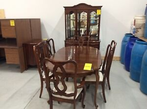 Andrew Malcolm Dining Room Table and 6 Chairs