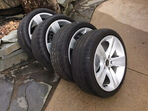 "BMW 18"" staggered style 189 wheels & Tires"