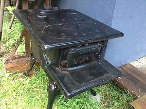 Small wood burning cookstove