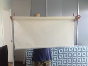 Double roller blinds (3 different sizes) make an offer one or all Fitzroy North Yarra Area Preview