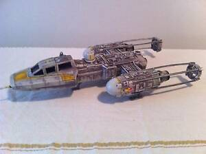 STAR WARS  LARGE Y-WING FIGHTER SUIT FIGURES -  IN GC Wantirna Knox Area Preview