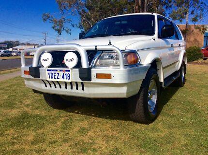 2000 Mitsubishi Challenger LS 4x4 Auto LPG Wagon 3 months Rego
