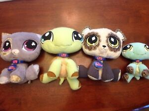Lot de de peluches Pet shop