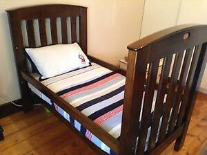 Boori Country Classic Cot/Toddler Bed, Large Bookcase & Tall Boy Thornbury Darebin Area Preview