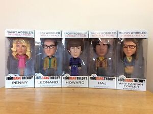 Big Bang Theory Bobble Heads