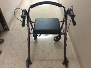 Bios rollator walker, fortable uset short time