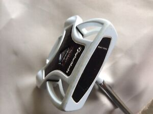 GOLF GHOST SPIDER PUTTER WITH SUPERSTROKE GRIP