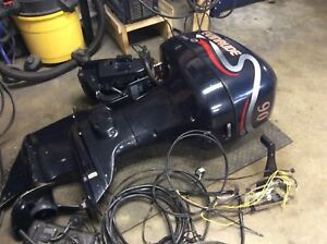 1998 evinrude 90hp fuel injection.
