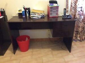 Matching timber computer/office desks Edensor Park Fairfield Area Preview