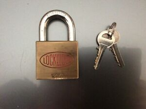 Wanted: Lockwood padlocks 120/50