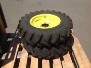 2 x New John Deere Tractor wheels and tyres. 8-16. New - Unused Penrith Penrith Area Preview