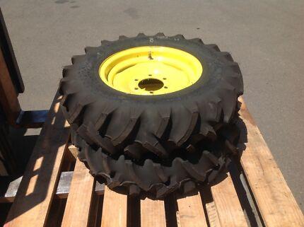 New John Deere Tractor wheels and tyres. 8-16. New - Unused
