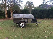 CENTRAL COAST CANVAS CAMPER TRAILER Cherrybrook Hornsby Area Preview