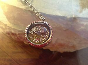 Beautiful Brand New Locket with Pink Crystals