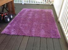 Purple/Fuschia Shaggy Rug Woodford Blue Mountains Preview