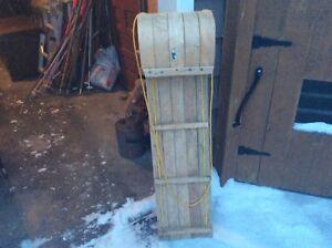 Wood Toboggan 4'