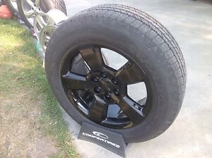New 20 in Gmc wheel's and tires
