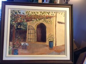 Oil Painting ( Florence Italy )
