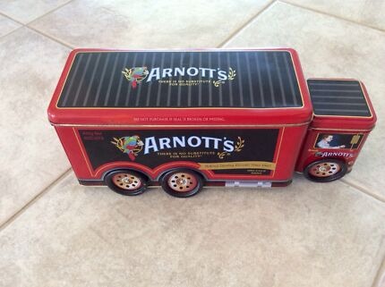 Arnott's Red Truck Biscuit Tin - A-142 Helensvale Gold Coast North Preview