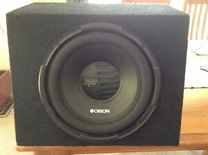 Orion car audio subwoofer Woodcroft Blacktown Area Preview