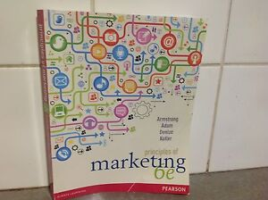 Principles of Marketing, Armstrong, Adam, Denise, Kotler, 6th ed Carlisle Victoria Park Area Preview