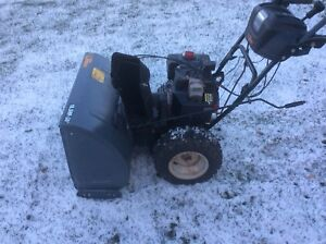 Yard works snowblower