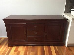 Stunning Redwood Buffet Sans Souci Rockdale Area Preview