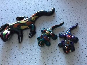 Geckos  eleven assorted sizes