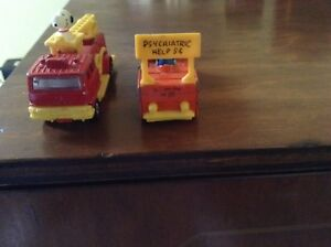 Vintage Aviva Snoopy/Lucy Vehicles Hong Kong