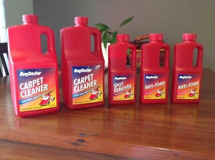 Rug Doctor Shampoo/cleaning Fluid, Spot Remover, Anti Foam X5 Bottles