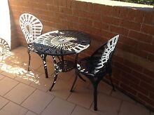 Cast aluminium table and chairs Baulkham Hills The Hills District Preview