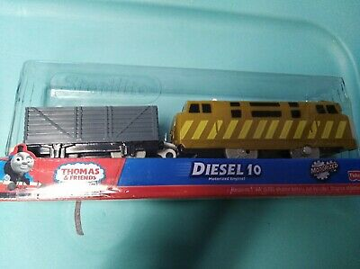 2011 Fisher-Price Thomas and Friends Trackmaster Diesel 10 Train New