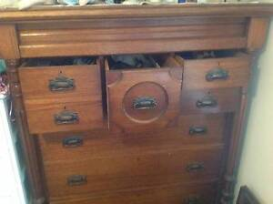 Antique Chest of Drawers Oxley Vale Tamworth City Preview