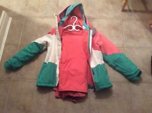 Girls youth snow suit