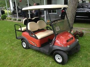 2008 golf cart (club car precedent)