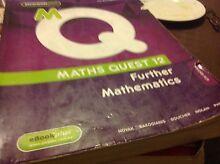 Maths quest 12 further maths Kew Boroondara Area Preview