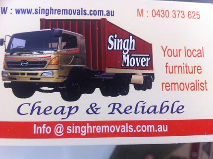 *** Singh Removals***  Cheap and Reliable **** Richmond Yarra Area Preview