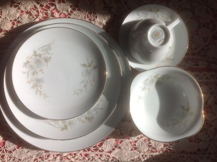Noritake dinner set vintage dinnerware gumtree australia hobart vintage dinner set 6 by rc japan babette fandeluxe Images