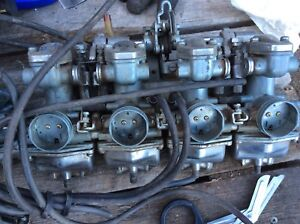 1971-1973 CB500 Carb Bank Carburetors