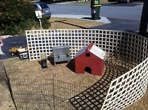 Chicken run house water and feeder Hamersley Stirling Area Preview