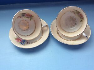 Royal Grafton Fine Bone China Tea Cups and Saucers