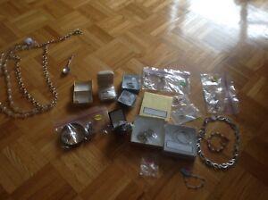 Bijoux or argent autres prix variés voir photos