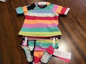 Seafolly baby girls bathers
