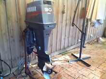 Outboard motor yamaha 90 hp Williamstown North Hobsons Bay Area Preview