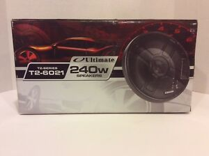 Pair Ultimate 240 Watts 6 1/2 (6.5) inch Speckers