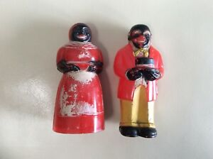 Uncle Tom and Aunt Jemima Salt & Pepper