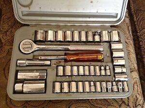 Socket set $10.00