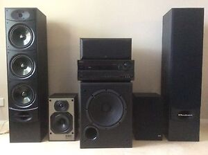 Surround sound receiver & speakers Excellent condition Rockingham Rockingham Area Preview
