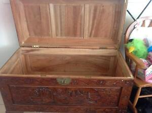 Camphor Wooden Chest - blanket storage Coffs Harbour Coffs Harbour City Preview