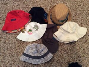 Baby and Toddler Boy Summer Hat Lot